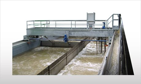 Travelling Bridge for Grease and Grit Removal  - PVD