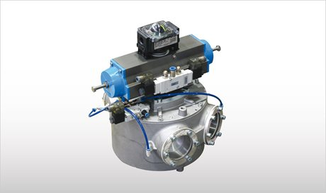 Drum-Type Diverter Valves for Pneumatic Conveying