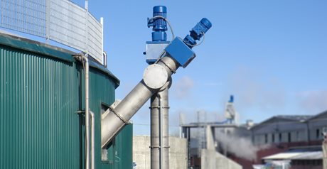 New TCB Bulk Biomass Conveying System for  Biogas plants